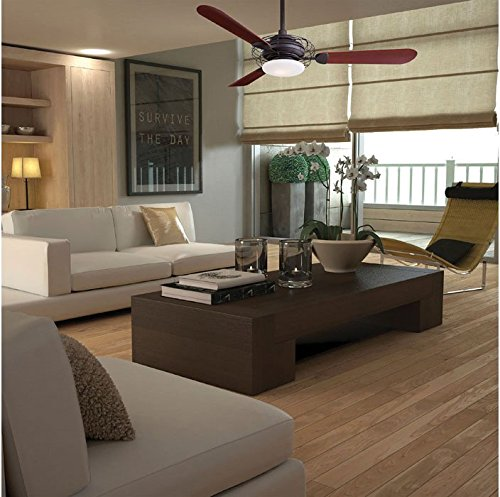 Minka aire f601 bsbn acero 52 ceiling fan with light brushed minka aire f601 bsbn acero 52 ceiling fan with light brushed steel amazon aloadofball Images