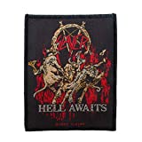 Slayer Hell Awaits Thrash Metal Band Album Merchandise Sew On Applique Patch
