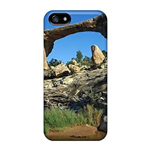 Ideal QQcase Case Cover For Iphone 5/5s(natural Bridge In Utah National Park), Protective Stylish Case