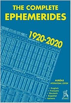 The Complete Ephemerides 1920-2020, International Edition (en anglais, français, allemand, espagnol, italien)