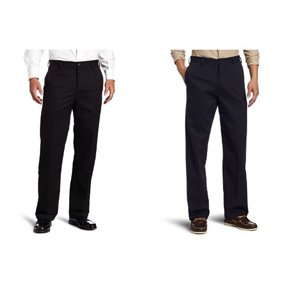 IZOD Men's American Chino Flat Front Straight-Fit Pant IZOD Men' s Sportswear 4534310
