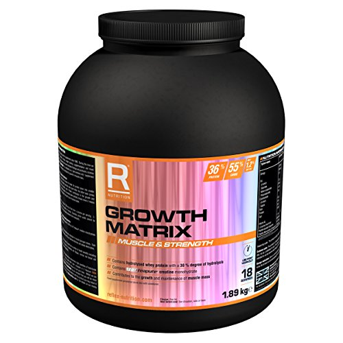 Reflex Nutrition Growth Matrix Powder Rich Chocolate 1.89 Kg by Reflex