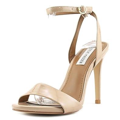 50a9214d5 Amazon.com | Steve Madden Reno Women US 11 Nude Sandals | Shoes