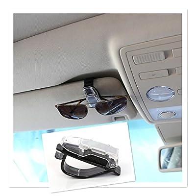 Iuhan Car Accessory Glasses Sunglasses Card Visor Pen Business Card Clip Holder