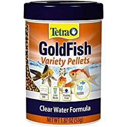 Tetra TetraFin Bite Sized Floating Variety Pellets, 1.87-Ounce - 77035