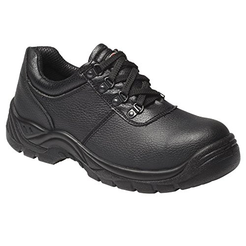 Dickies Mens Safety Steel Toe Cap Padded Clifton Work Shoes 7-11 Black IagfoU