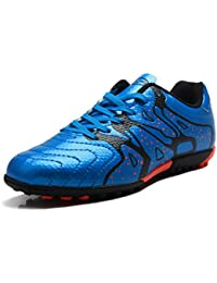 Kids Soccer Shoes Cleats Athletic Outdoor Light Weight Football Boots(Little Kid/Big Kid) NO.77030