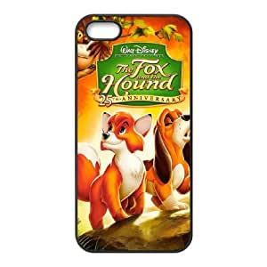 iPhone 4 4s Cell Phone Case Black Disney The Fox and the Hound Character Tod Wewhl