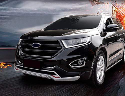 FidgetGear Black Front Grill grille Sport version for Ford EDGE 2015-2017 no camera hole