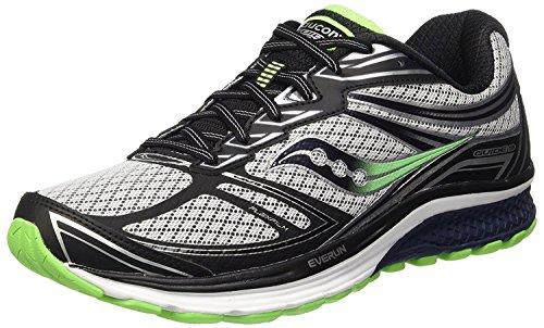 Saucony Men's Guide 9 Running Shoe, Verde, 47 D(M) EU/11.5 D(M) UK