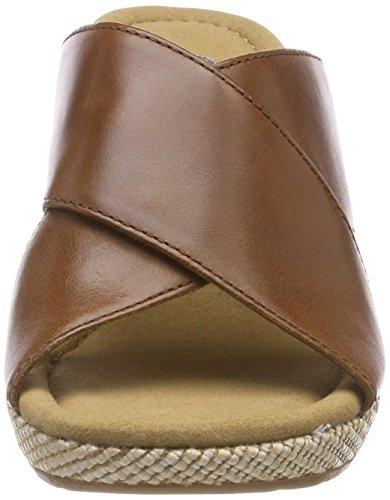 Sandali Con Il Cinturino Da Donna Comfort Gabor Marrone (arachidi (bast))