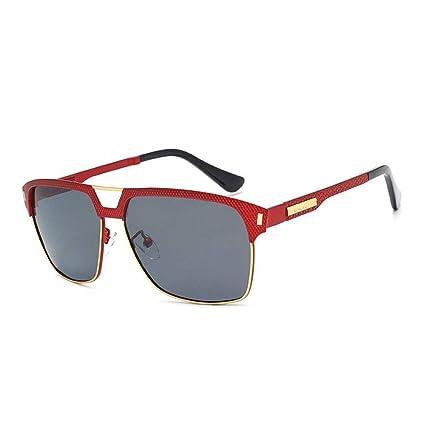 QZHE Gafas de sol Gafas De Sol Unisex para Hombres, Gafas De ...