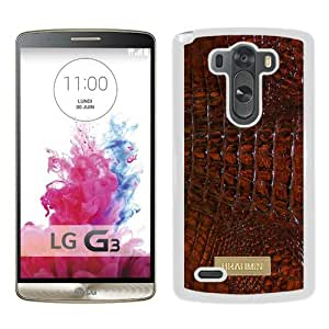 Newest LG G3 Case ,Brahmin 01 White LG G3 Cover Case Fashionable And Popular Designed Case Good Quality Phone Case
