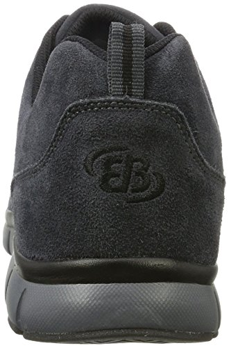 Bruetting Glendale, Sneakers Basses homme, Gris (Grau/schwarz), 47 EU