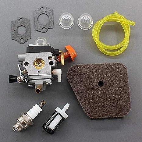 Amazon com: 025 Stihl Chainsaw Parts - 9pcs Carburetor Kit Fs110
