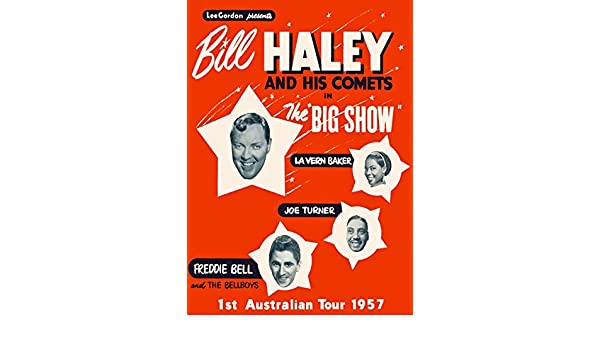 Bill Haley /& The Comets Retro Metal Advertising Poster Wall Sign