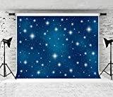 Kate 7x5ft Blue Sky Backdrops Night Star Dreamlike Background for Photography Cotton Professional Photography Backdrop