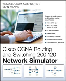 Buy ccna routing and switching 200 120 network simulator book buy ccna routing and switching 200 120 network simulator book online at low prices in india ccna routing and switching 200 120 network simulator reviews fandeluxe Choice Image