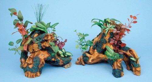 Aquariums - Driftwood Garden Trunk by Penn Plax