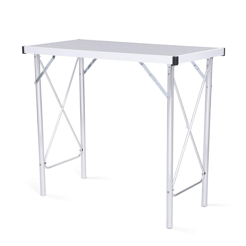 Aluminum Alloy Portable Folding Camping Table Laptop Desk for Picnic/Working by DOVOK (Image #1)