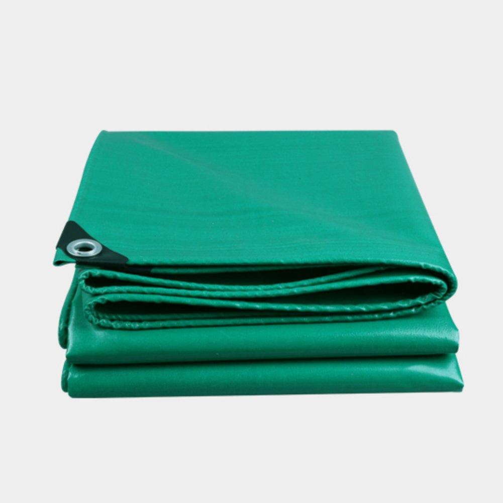 CLDBHBRK Flauschige Grün Verdicken Regen Tuch Schuppen Tuch Wasserdicht, Draussen LKW-Tuch Sonnenschild Linoleum Polyester PVC,400  500cm