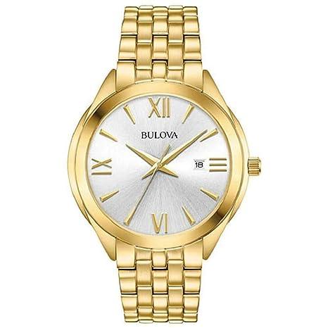 Amazon.com: Bulova 97B180 - Reloj de pulsera para hombre ...