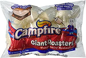 Campfire Giant Roasters Marshmallows Huge 28 Ounce Bag Pack of 3