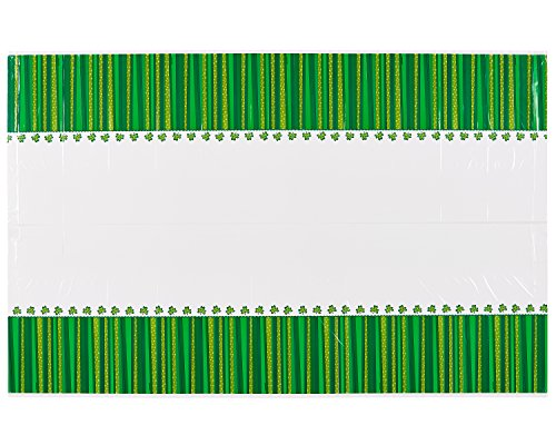 American Greetings St. Patrick's Day Plastic Table Cover, 54