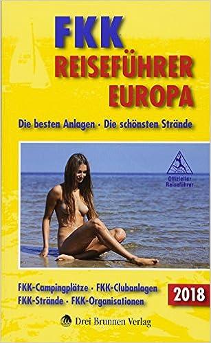 FKK Reiseführer Europa 2018 Titelbild