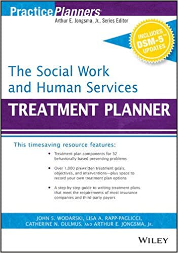 Amazon.com: The Social Work and Human Services Treatment Planner ...