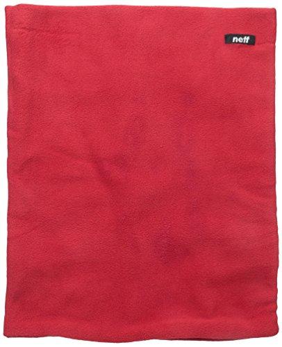 neff Men's Fleecey Gaiter, Red, One Size