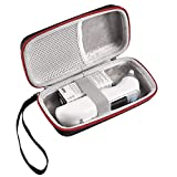 LuckyNV Thermometer Case,Portable Protective Storage EVA Case for Braun Thermoscan 7 IRT6520 Thermometer Handle Bag