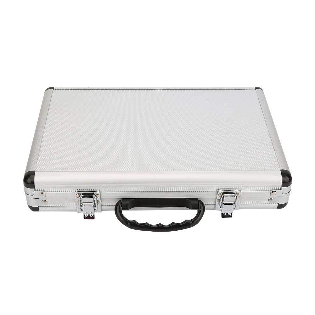Brocas de enrutador con caja de aluminio 35 piezas 1//4 Brocas de enrutador Juego de brocas de carburo de tungsteno de v/ástago profesional