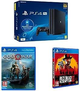 Playstation 4 Pro (PS4) - Consola de 1TB + 20 euros