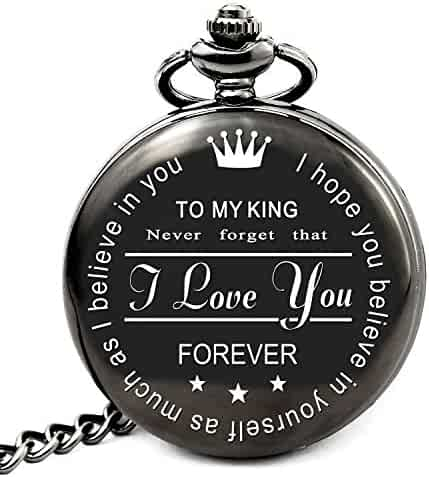 LEVONTA Anniversary Gifts for Men Who Have Everything Birthday Gifts for Men Personalized Gifts for Husband Boyfriend (King)