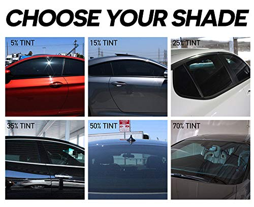 PreCut Ceramic Tint Film for All Sides & Rears Window by MotoShield Pro