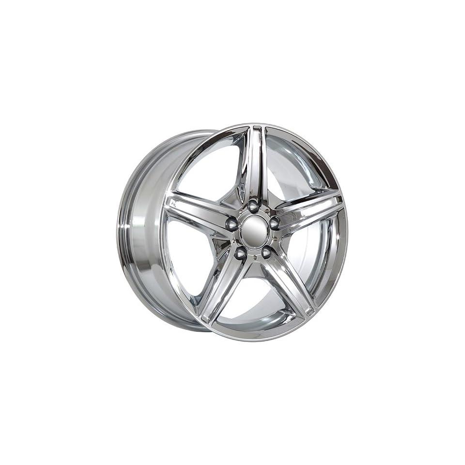 18 Mercedes Benz ML GL R class chrome wheels rims AMG
