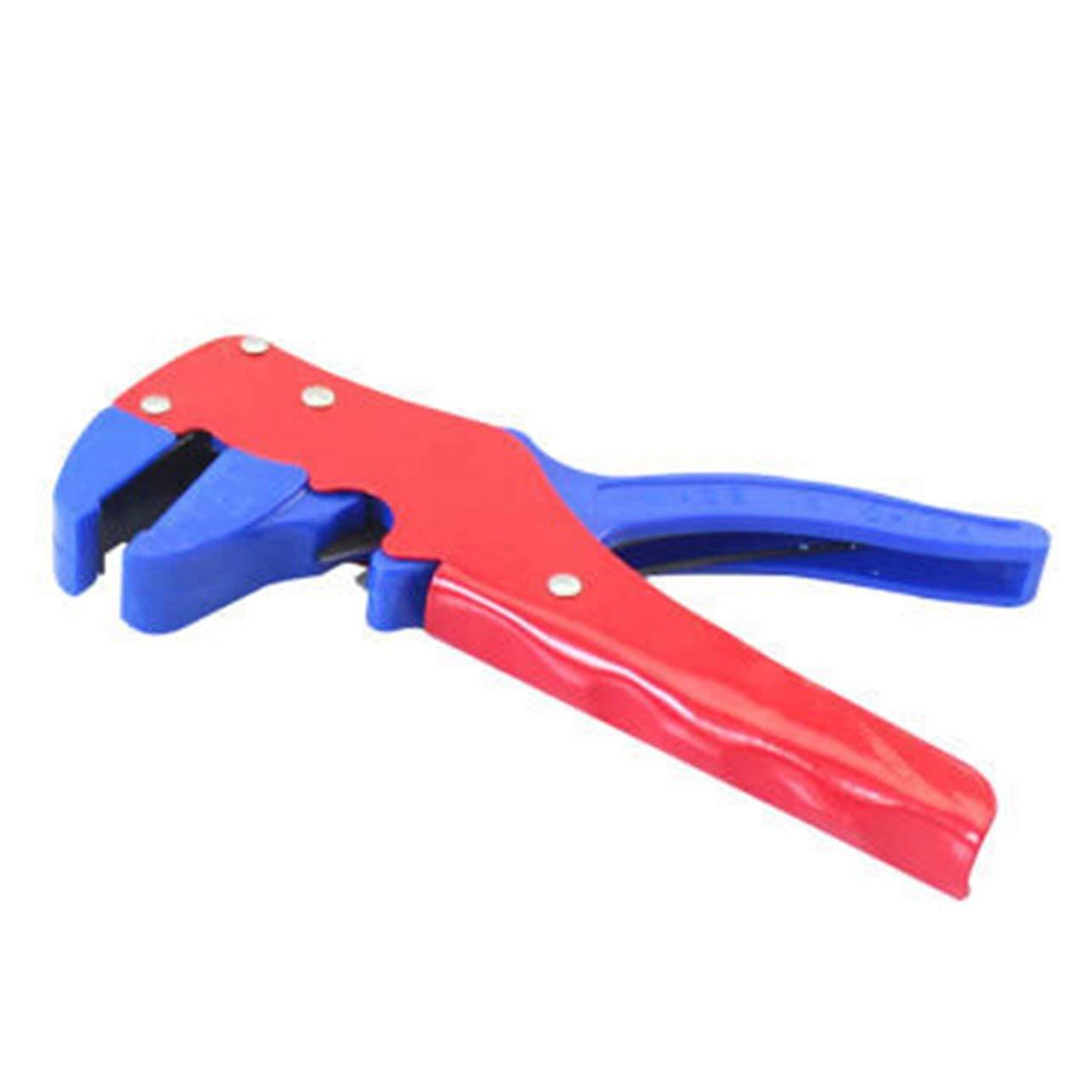 WOSOSYEYO T20 Mini Multifonctions Trompette Pince /à d/énuder Automatique R/églage de Plomb de c/âble pour 0,2-6 mm carr/é Coupe-Fil poign/ée Outil