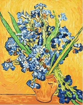 Vase Irises