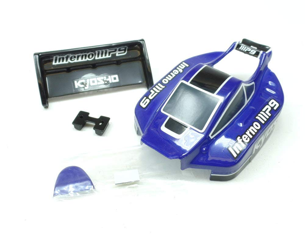 Kyosho Mini-Z Buggy MB-010 Inferno MP9 MBB03BB Body + Rear Spoiler ...