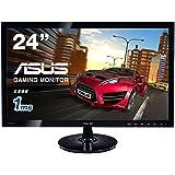ASUS ゲーミング モニター 24型 フルHDディスプレイ (1,920x1,080 / HDMI, DVI-D, D-sub/ASCRテクノロジー / VESA規格) VS248HR