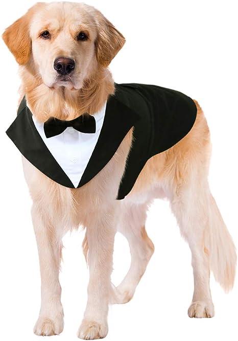 Kuoser Dog Tuxedo Dog Suit