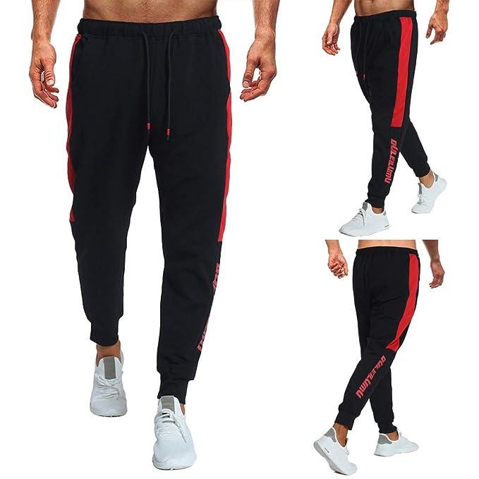 Memefood Pantalones Hombre, Chándal de Hombres Deportivos Running ...