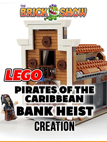 Clip  Lego Pirates Of The Caribbean Bank Heist Creation