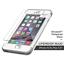 "Encased Tempered Glass Screen Protector for Lifeproof Nuud Case - iPhone 6 Plus 5.5"" (case not included)"