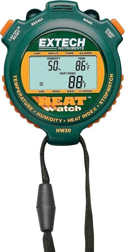 Amazon.com: Extech HW30 Humedad/termómetro/Cronómetro Índice ...
