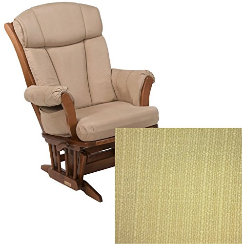 Dutailier 908 Series Maple Multiposition Reclining Glider W/Lock in Harvest With Cushion 5115 -  DU908-120-18-5115