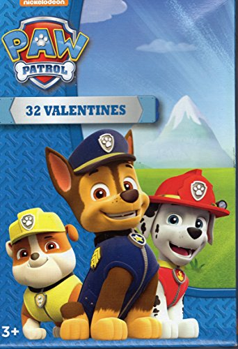 Paper Magic 32 Count Valentines (Paw Patrol)