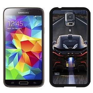 NEW Unique Custom Designed Samsung Galaxy S5 I9600 G900a G900v G900p G900t G900w Phone Case With McLaren P1 Back Race_Black Phone Case