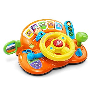 VTech Turn and Learn Driver - Orange - Online Exclusive by VTech that we recomend personally.